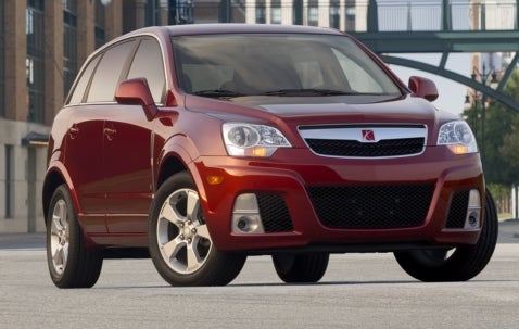 Saturn Vue Red Line Launched