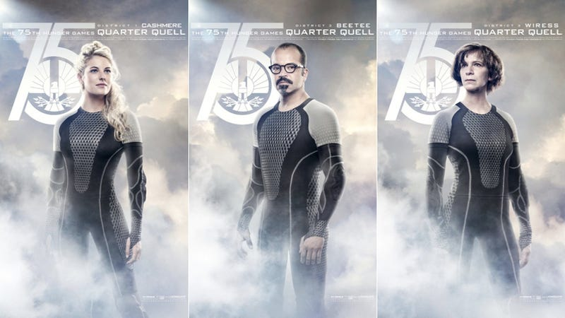 Cashmere, Beetee, and Wiress Looking Good in Latest Catching Fire Promos