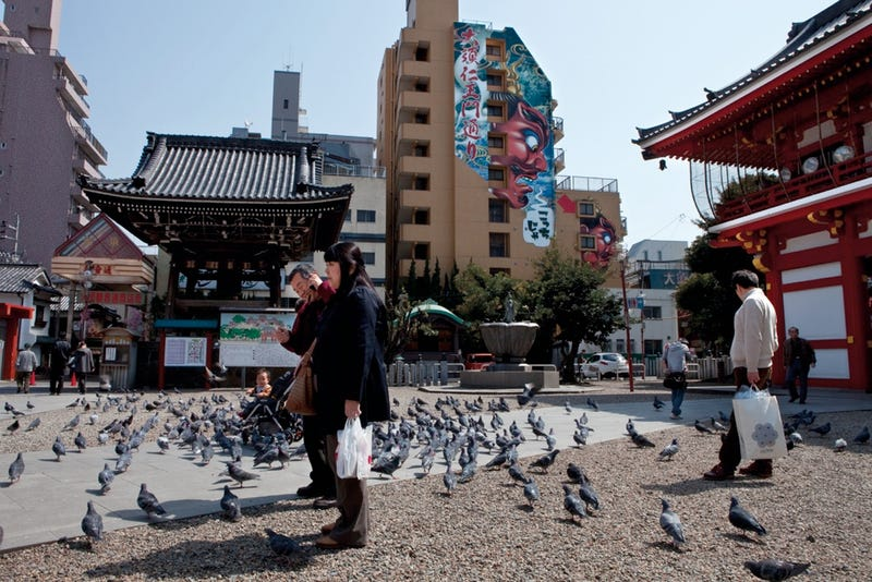 The City Where Japanese Nerds and Japanese Temples Meet