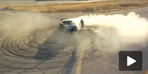 "Ken Block Drifts Subie Around A Segway In Amazing ""Gymkhana"" Autocross Session"