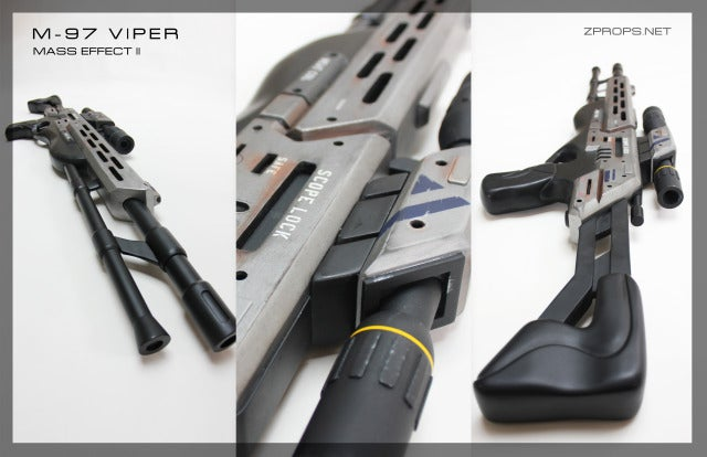 Human Hands Can Actually Touch This Mass Effect 2 Sniper Rifle
