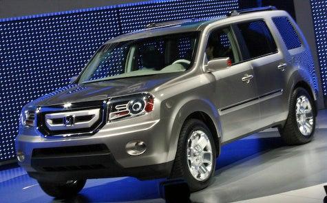 Detroit Auto Show: 2009 Honda Pilot Unveiled
