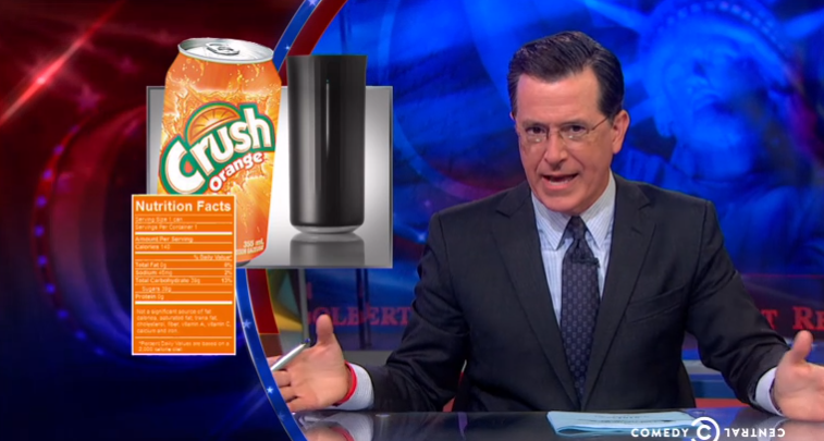 Stephen Colbert Tears Apart Crowdfunding's Dumbest Projects