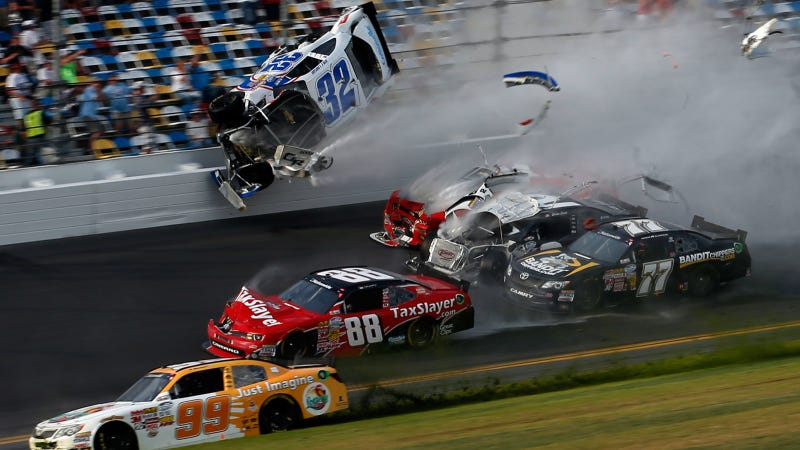 Everything We Know About Saturday's Horrific NASCAR Crash At Daytona