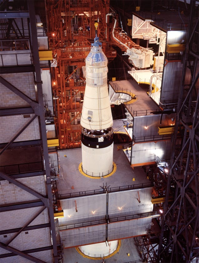 How they assembled Apollo 11