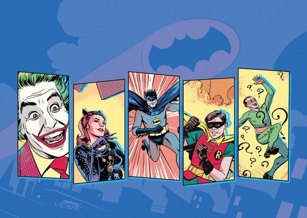The '60s Batman show returns with a new comic and the best SDCC exclusive ever