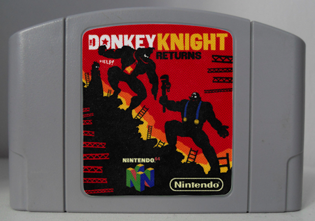 ​If The Dark Knight Returns Were About Donkey Kong
