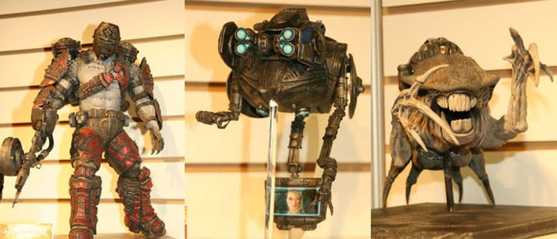 Toy Fair 2009: Dante's Inferno, Gears Of War & More