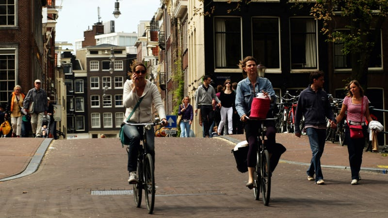 Bicycles Outsell Cars In Europe