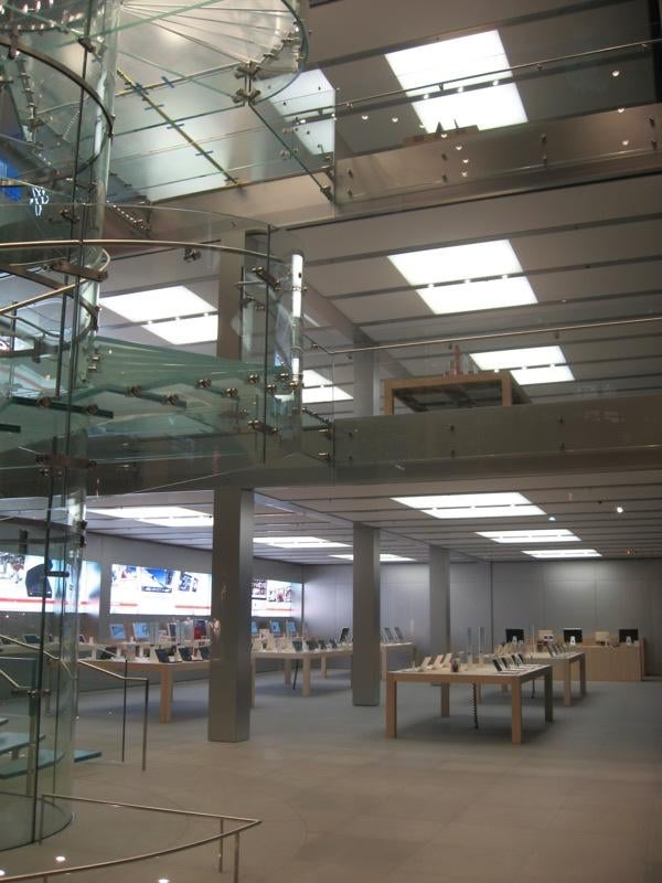First Look Inside the New Gigantastic NYC Apple Store