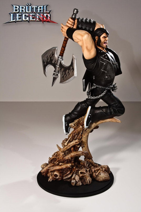 Brutal Legend's Eddie Riggs In All His Sculpted Glory