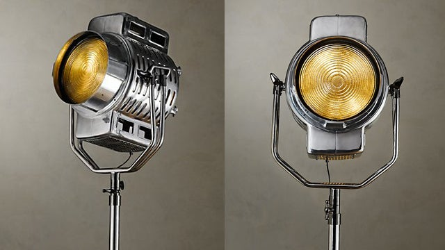 A Vintage Lamp Made for the Movie Lover