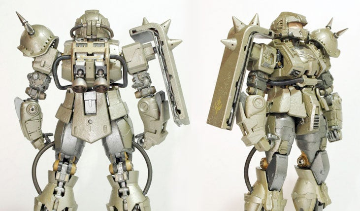 When Halo Meets Gundam: The Master Chief Zaku