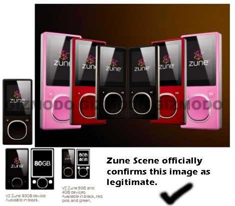 Zune Scene Predicts Zune 2 on October 16th