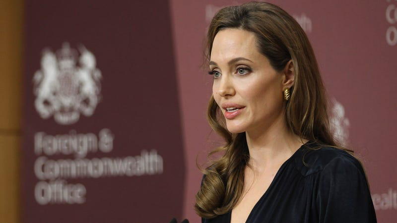 Angelina Jolie Travels to Syria to Meet with Refugees Because She Is Way Way Better Than Us