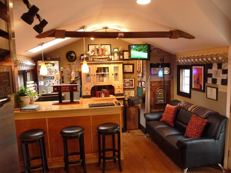 The Home Brewing Laboratory of Every Beer Drinker's Dreams