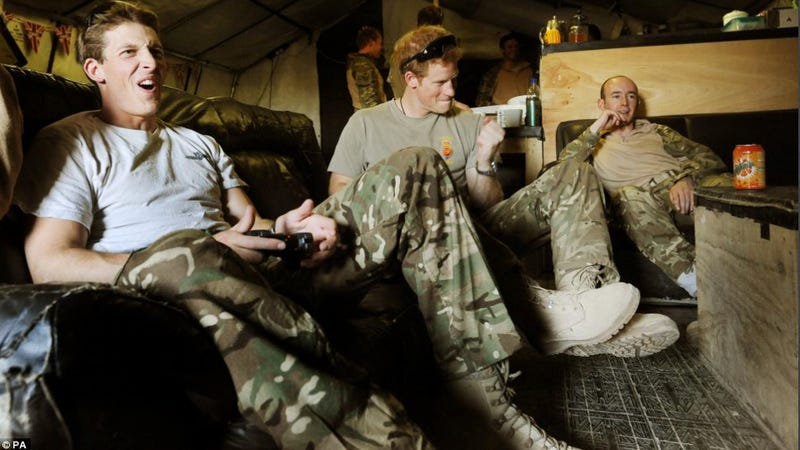 "Prince Harry ""Thrashed"" Fellow Troops at FIFA While in Afghanistan"
