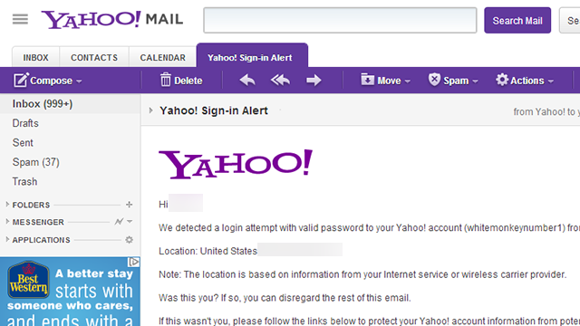 Log In to Your Yahoo! Mail Address or Lose it On July 15th