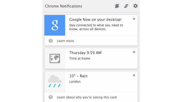 Google Now Just Took Its First Steps Onto the Desktop