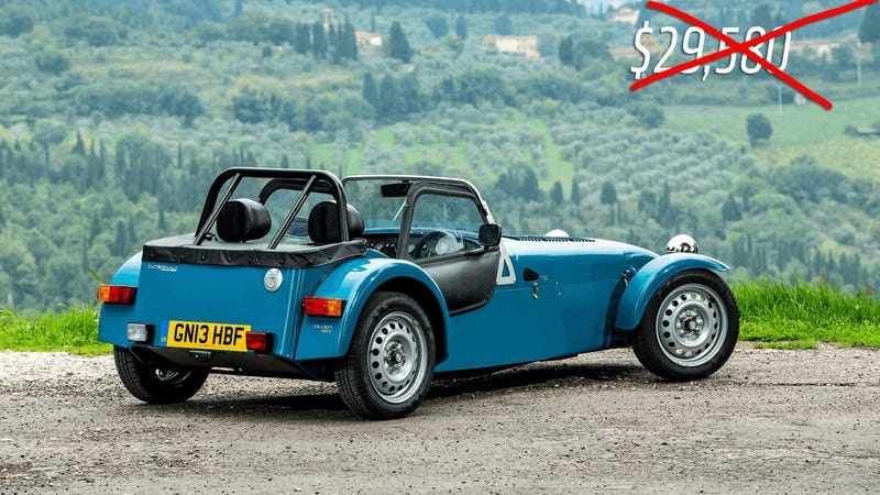 The Caterham 160 Is Not That Cheap After All