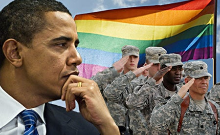 February's Interminable Divisive Legislative Battle: Gays in the Military