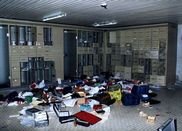 This is What a Ransacked Diamond Vault Looks Like After The Heist of the Century