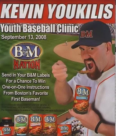 Kevin Youkilis' Facial Hair Has A Lot On Its Mind, By Cracky
