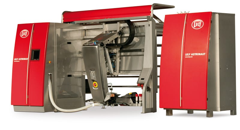 This Laser-Guided Robo-Milker Is the Future of Dairy