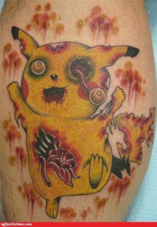 Zombie Pikachu Probably Looked Better On Paper
