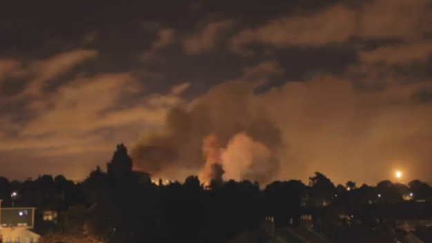 A Night of London Rioting in 90 Seconds