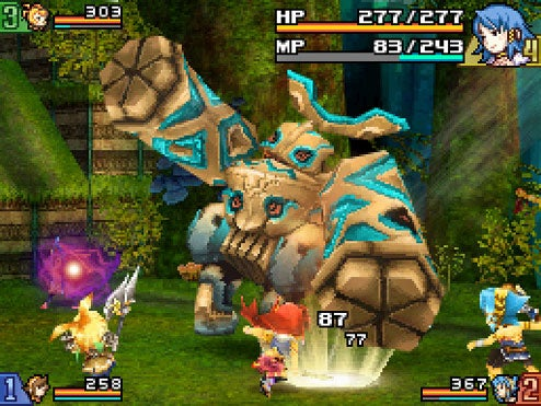 Final Fantasy Crystal Chronicles: Echoes Of Time Blurs Wii-DS Line In Spring 09