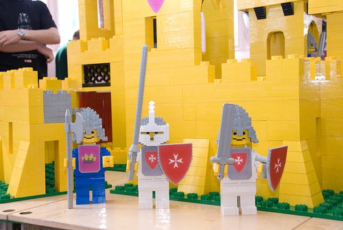 Huge LEGO Yellow Castle Version Looks Bigger than Most Apartments