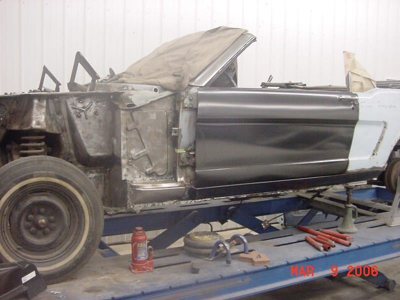 See The First Ford Mustang Die And Come Back To Life