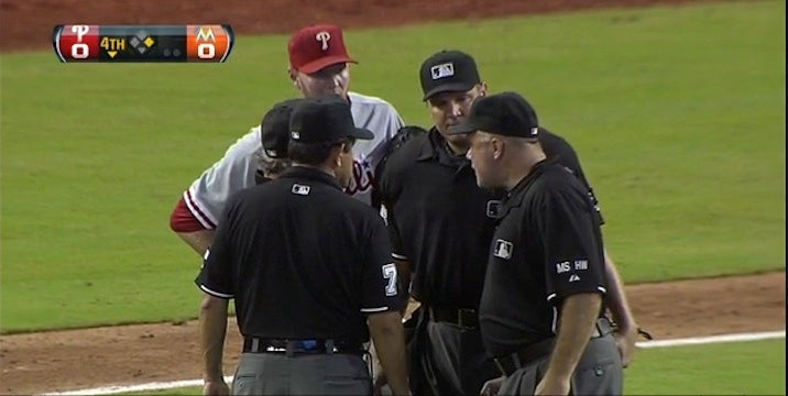 Four Umpires, And Not One Knows The Count