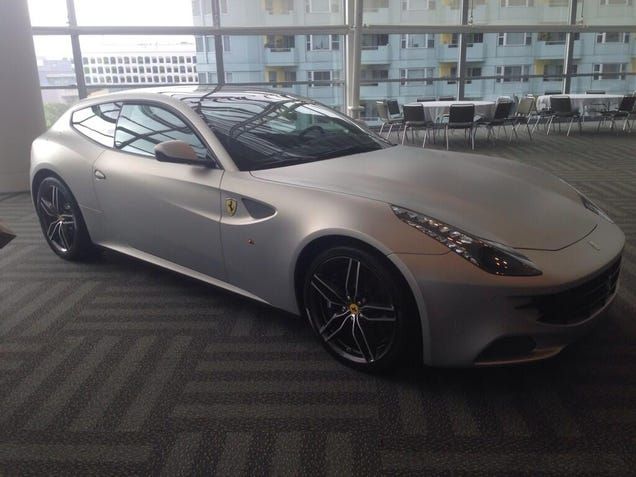 There's A Ferrari FF At Apple's WWDC – What Does It Mean?