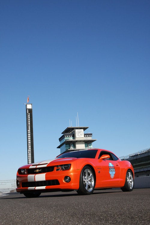 2010 Camaro RS Pace Car: First Photos