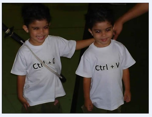 I Want to Have Twins Just to Get Them These Awesome T-Shirts