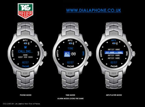Tag Heuer's Cellphone is a Watch Phone?