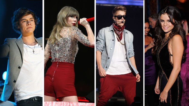 Tween Mountain: Taylor Swift, Harry Styles, Selena Gomez and Justin Bieber All Went Skiing Together