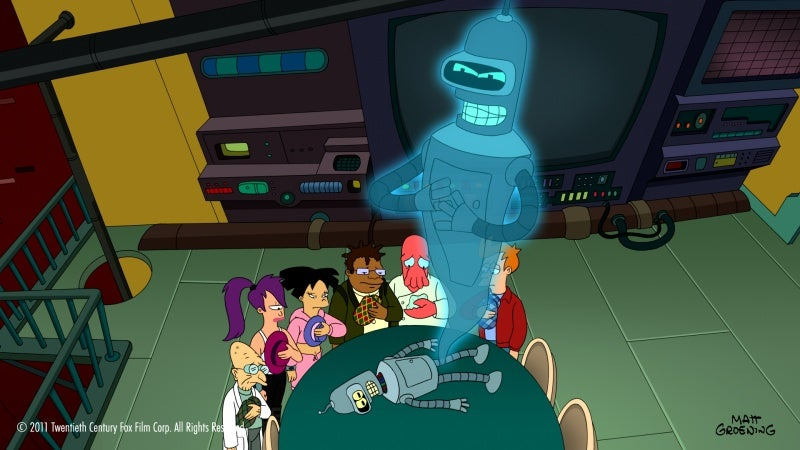 This Week's TV: The Afterlife, Futurama-Style. And Star Wars Cakes!