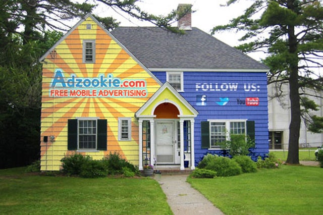 Would You Let Someone Advertise on Your House if They Paid Your Mortgage?