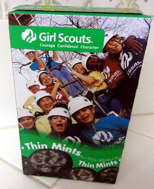 The Girl Scouts are Selling Cookies on Campus Right Now