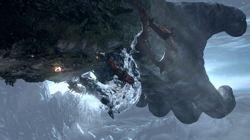 God Of War III's First Big Boss Battle Is Unforgettable