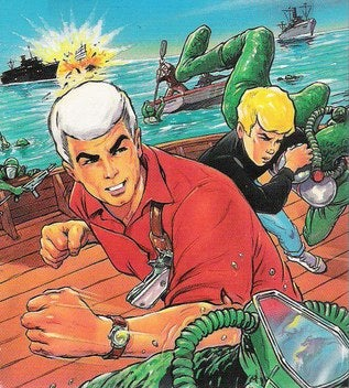 The Rock Dons Race Bannon's White Wig In Jonny Quest Movie