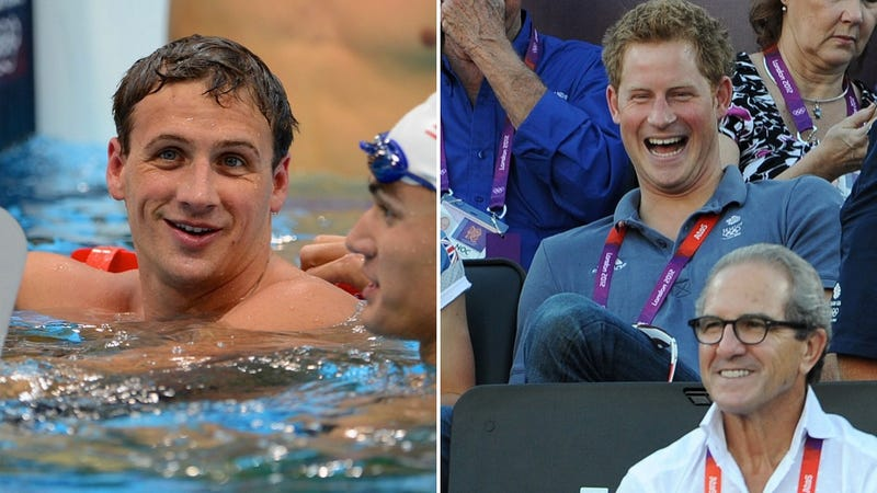 Prince Harry and Ryan Lochte Wore Jeans, Drunkenly Raced in a Vegas Hotel Pool at 3a.m