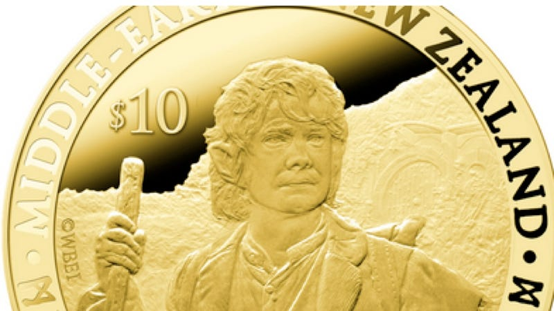 New Zealand Mints Precious Hobbit Money