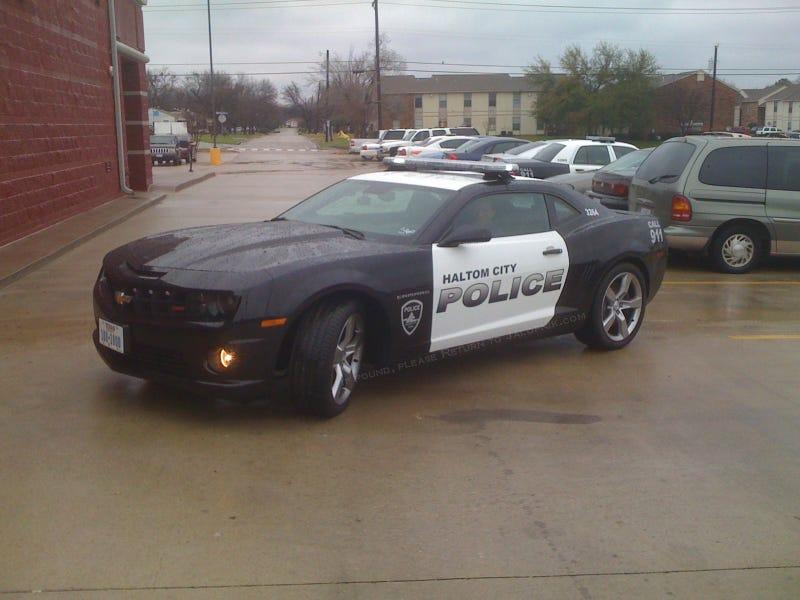 2010 Chevy Camaro SS: Haltom City Police Car