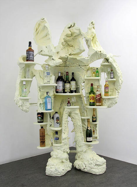 Liquor Master Says You Take Sculpture, Liquor Seriously