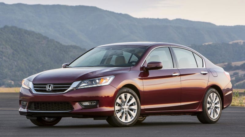 The Honda Accord Beheads The Toyota Camry