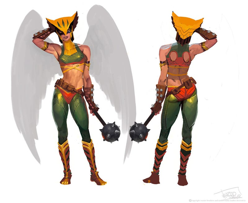 When Video Game Artists Get To Redesign Comic Book Superheroes